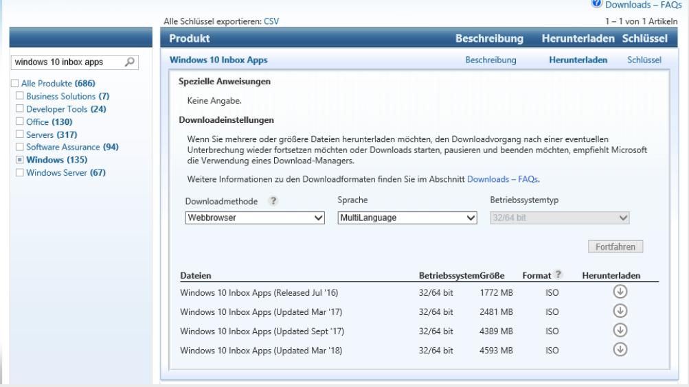 Localizing Inbox Apps during OSD - Vacuum Breather